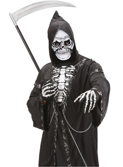 Máscara calavera de plástico para hombre - para tu disfraz