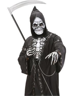 Masque tête de mort plastique homme