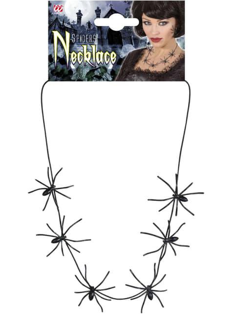 Collar con arañas para mujer - barato