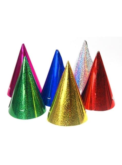 120 chapeaux divers holographique - Holographic