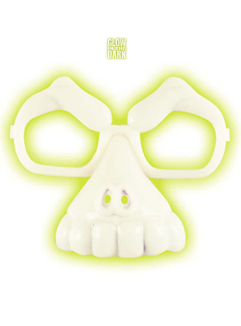 Unisex Glow-in-the-Dark Skull Glasses