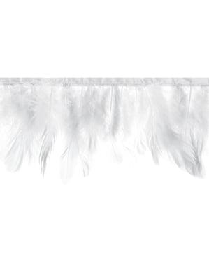 Guirnalda de plumas blancas - First Communion