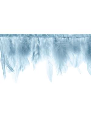 Mavi tüyler garland - Vaftiz
