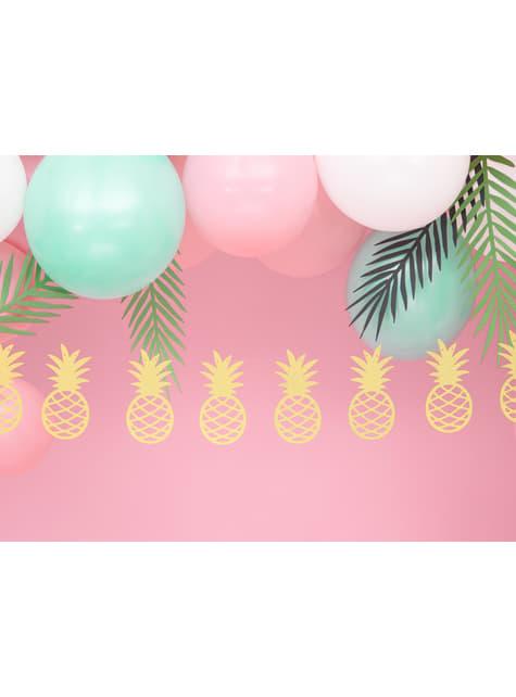 Ananas Girlande gold - Aloha Collection