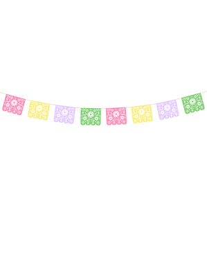 Meksika Kağıt Garland - Dia de Los Muertos Koleksiyonu