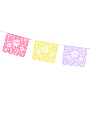Grinalda mexicana de papel - Dia de Los Muertos Collection