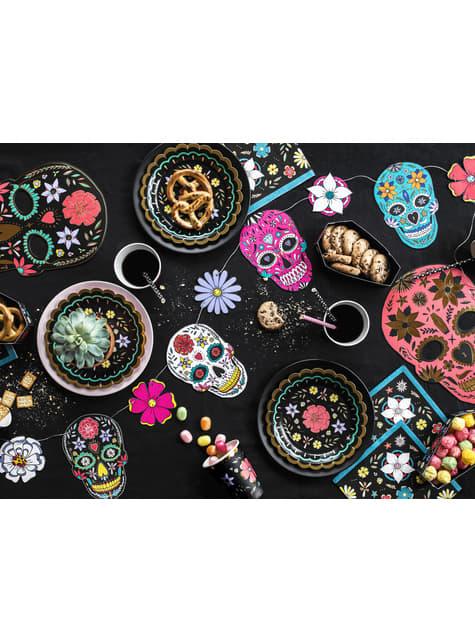 Guirnalda de calaveras y flores multicolor - Dia de Los Muertos Collection - comprar
