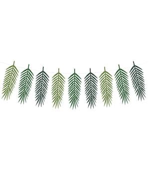 हरी पत्तियों की माला - उष्णकटिबंधीय शादी
