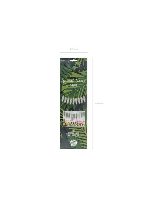 Guirnalda de hojas verdes - Tropical Wedding - original