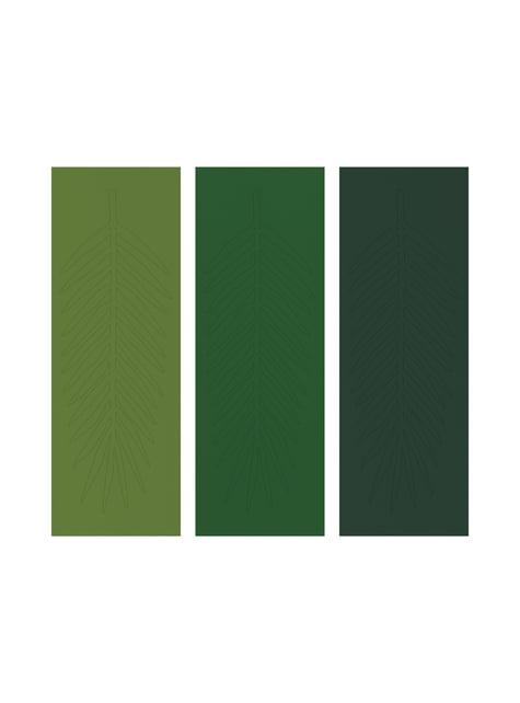 Guirnalda de hojas verdes - Tropical Wedding - para niños y adultos