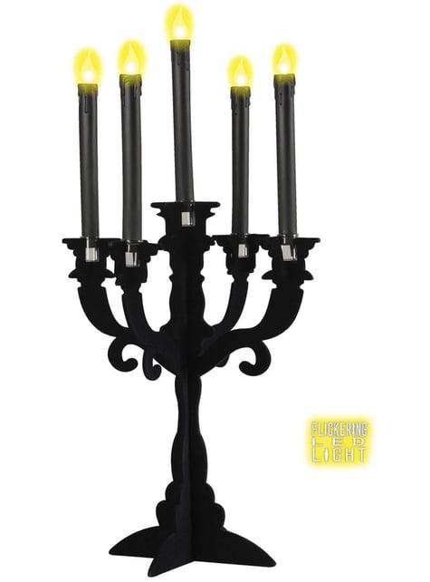 Velas negras con luz led - barato