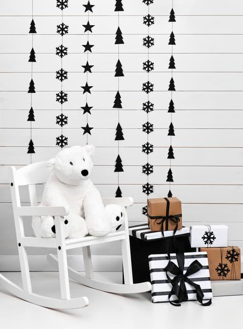 2 guirnaldas verticales árboles de Navidad - Christmas - para tus fiestas