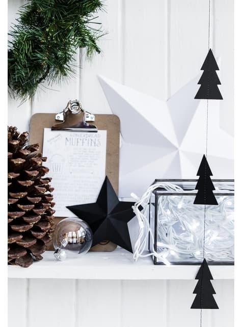 2 guirlandes verticales Sapin de Noël- Christmas