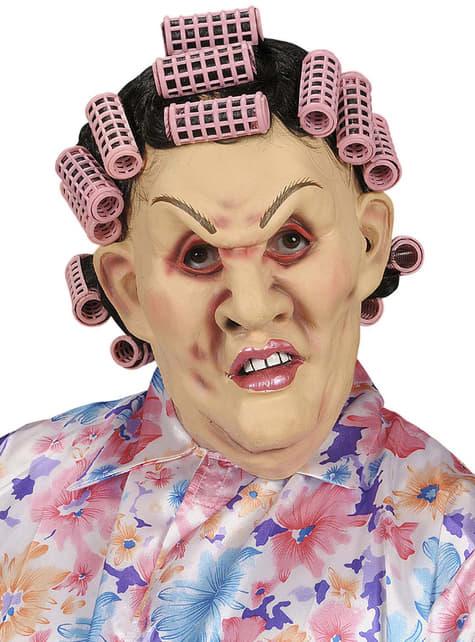Máscara de suegra enfadada