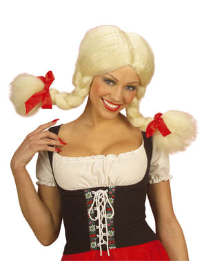 Adorable villa girl wig for a woman