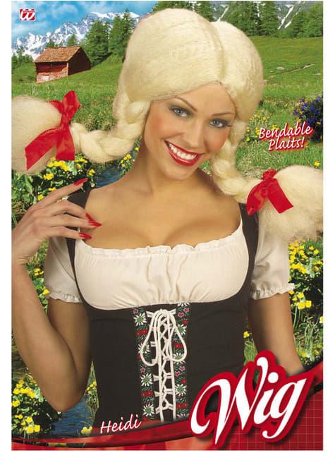 Peluca chica adorable de la villa - para tu disfraz