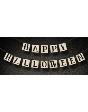 «Happy Halloween» гірлянда з паперу