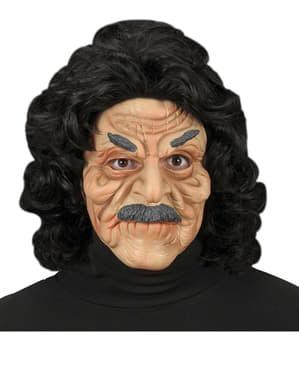 Maschera mezzo viso da vecchietto
