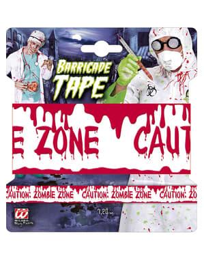 Absperrband Zombie Zone