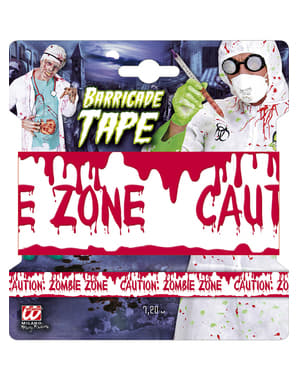 Zombie Barricade szalag