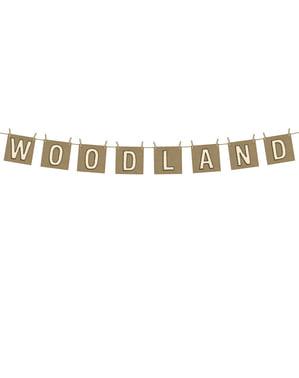 """Spanduk """"Woodland"""" - Woodland"""