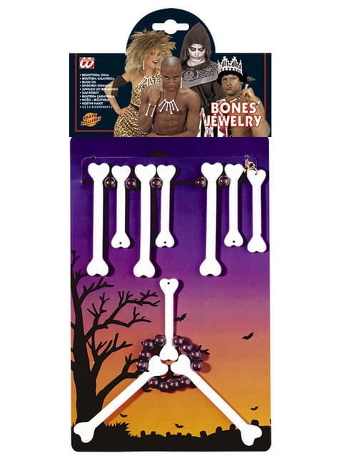Bone Necklace Set