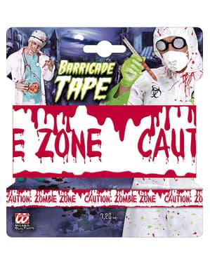 Bandă zona zombie