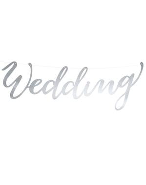 """चांदी में """"शादी"""" माला - सुरुचिपूर्ण आनंद"""