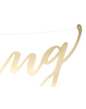 """सोने में """"शादी"""" माला - सुरुचिपूर्ण आनंद"""