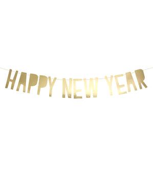 "Златиста гирлянда ""Happy New Year""– Happy New Year Collection"