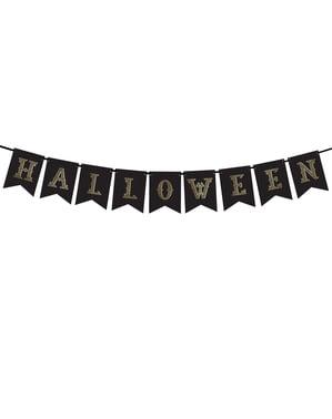 """""""Noć vještica"""" bannera, Black & Gold - trik ili liječiti Kolekcija"""