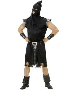 Disfraz de verdugo maligno para hombre