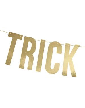 "Златиста гирлянда ""Trick Or Treat""– Trick or Treat Collection"