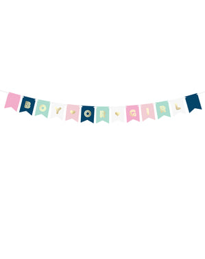 """Boy atau Girl"" Banner dalam Pastel Shades"