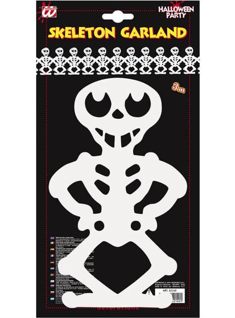 Guirnalda esqueletos tenebrosos - para tus fiestas