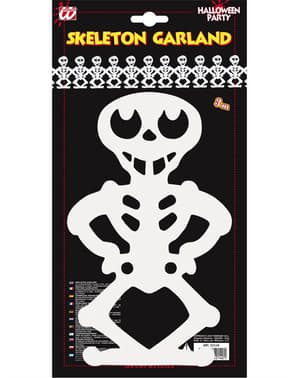 Grinalda esqueletos tenebrosos