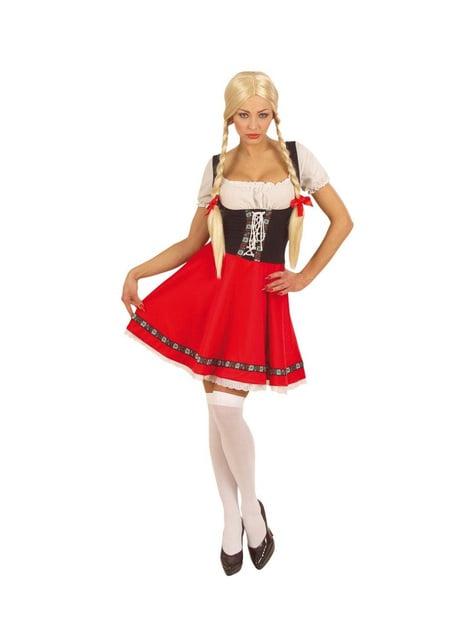 Disfraz de Oktoberfest para mujer talla grande