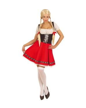 Oktoberfest Plus Størrelse kostume til kvinder