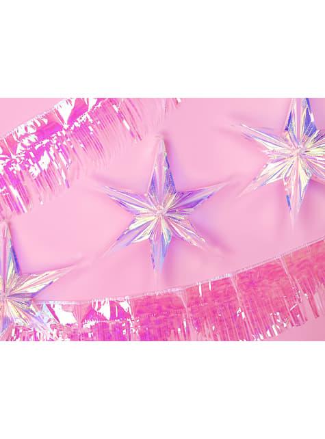Estrella colgante iridiscente de 40 cm - Iridescent - para tus fiestas