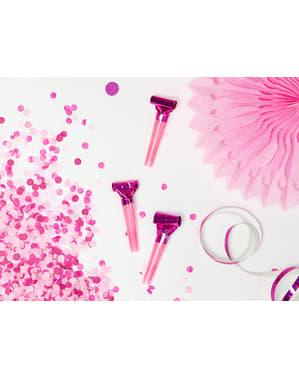 6 sans-gênes holographiques variés - Colorful & holographic birthday