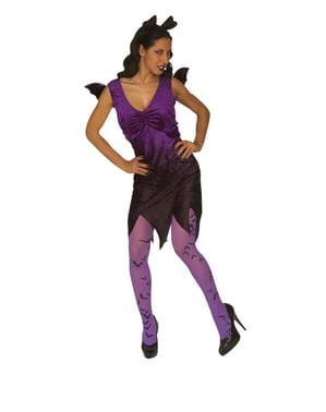 Costume da dama pipistrello tentatrice donna taglie forti