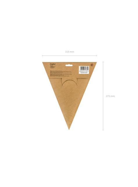 Estrella colgante plateada de 45 cm de papel - el más divertido