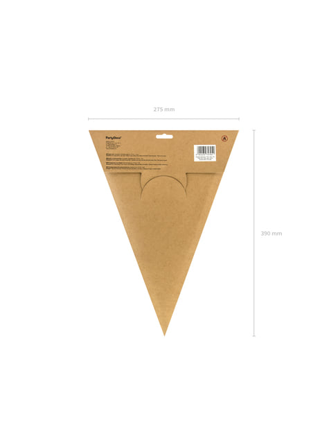 Estrella colgante dorada de 70 cm de papel - para decorar todo durante tu fiesta