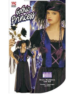 Disfraz de gótica siniestra para niña