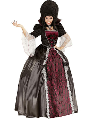 Kostuum vampier voor vrouw
