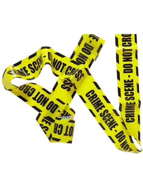 Fita de cenário do crime