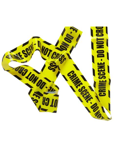 Ruban protection scène de crime