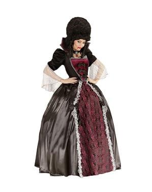 Vamp Kostüm große Größe für Damen