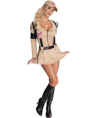 Női szexi Ghostbusters Luxus jelmez