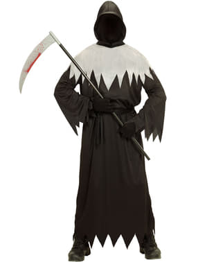 Costume da morte delle tenebre da uomo taglie forti
